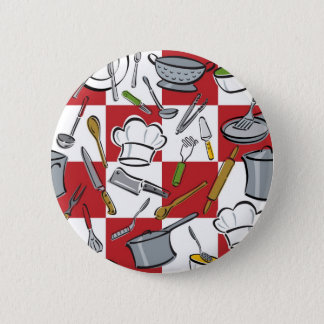 Kitchen Tools Checkerboard Button