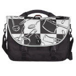 Kitchen Tools Checkerboard Commuter Bags