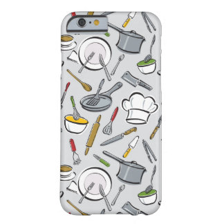 Kitchen Tools Pattern Barely There iPhone 6 Case