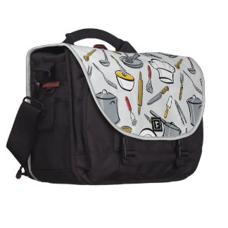 Kitchen Tools Pattern Commuter Bags