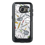 Kitchen Tools Pattern OtterBox Samsung Galaxy S7 Case