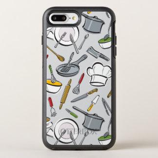 Kitchen Tools Pattern OtterBox Symmetry iPhone 8 Plus/7 Plus Case