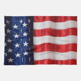 Kitchen towel-American Flag Kitchen Towel