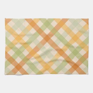 Kitchen Towel - Checked for Tulip Poplar Tulip
