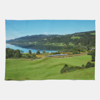 Kitchen towel of large Alpsee