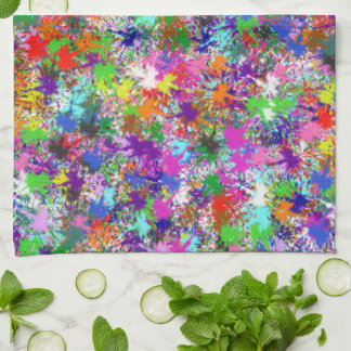 Kitchen Towel - Paint Splatters One