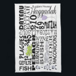 "Kitchen Towel &quot;Passover Words&quot;<br><div class=""desc"">Passover/Pesach Kitchen Towel. &quot;Passover Pesach Words&quot; dish towel&quot; Wonderful for yourself or bought for a hostess gift. Personalize by deleting, &quot;Bubbie&#39;s House&quot; and replacing with your own words, or leave blank. Choose your favorite font style, color, and size to personalize. Thanks for stopping and shopping by. Much appreciated! Happy Passover!...</div>"