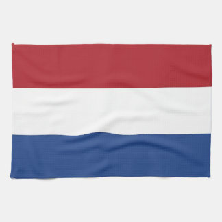 Kitchen towel with Flag of Netherlands