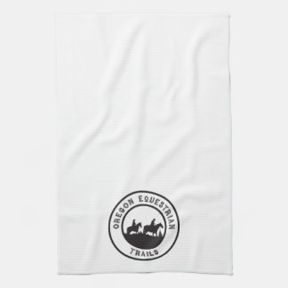 Kitchen towel with logo