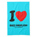 i [Love heart]  bhess angelica! i [Love heart]  bhess angelica! Kitchen Towels