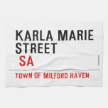 Karla marie STREET   Kitchen Towels