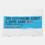 3rd Davyhulme Scout & Guide Band  Kitchen Towels
