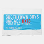 boothtown boys  brigade  Kitchen Towels