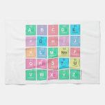 abc|de fghij klm|nop qrstu vwxyz  Kitchen Towels
