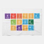 Karissa Love Oksa  Kitchen Towels