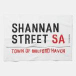 Shannan Street  Kitchen Towels