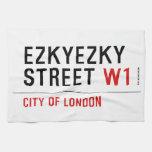 ezkyezky Street  Kitchen Towels