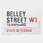 Belley Street  Kitchen Towels
