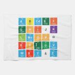 Abcdef ghijk lmnopq rstuv wxy&z  Kitchen Towels