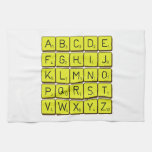 ABCDE FGHIJ KLMNO PQRST VWXYZ  Kitchen Towels
