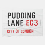 PUDDING LANE  Kitchen Towels