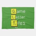 Game Letter Tiles  Kitchen Towels