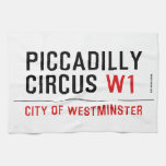 piccadilly circus  Kitchen Towels