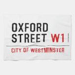 oxford street  Kitchen Towels