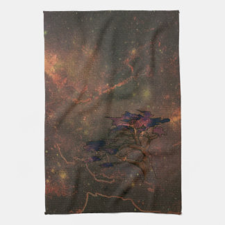 Kitchen Towels--A dark and stormy night