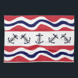 """Kitchen Towels Nautical<br><div class=""""desc"""">Beautiful dish towels for boat lovers!</div>"""