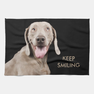 Kitchen Towl Keep Smiling Hand Towels