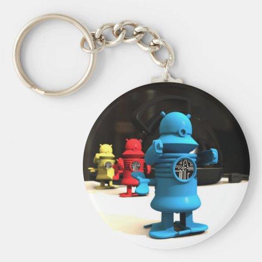 Kitchen Toy Robot Helpers Keychain
