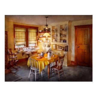 Kitchen - Typical farm kitchen Postcard