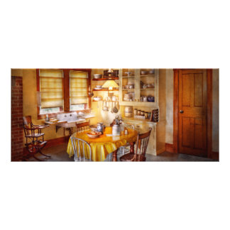 Kitchen - Typical farm kitchen Rack Card
