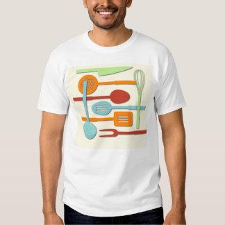Kitchen Utensil Silhouettes ORBLC III T Shirt