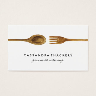 Kitchen Utensils | Cooking and Catering Business Card