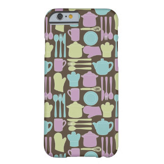 Kitchen Utensils Pattern 2 Barely There iPhone 6 Case