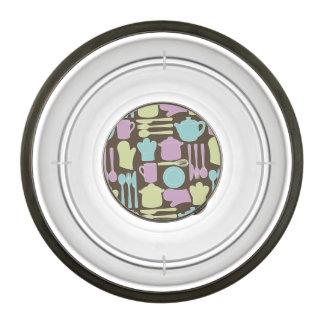 Kitchen Utensils Pattern 2 Bowl