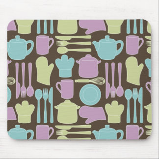 Kitchen Utensils Pattern 2 Mouse Pad