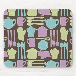 Kitchen Utensils Pattern 2 Mouse Pad