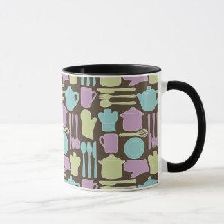 Kitchen Utensils Pattern 2 Mug