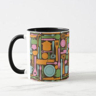 Kitchen Utensils Pattern 3 Mug