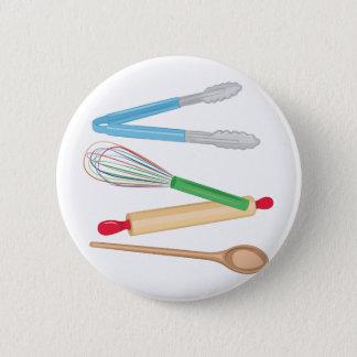 Kitchen Utensils Pinback Button