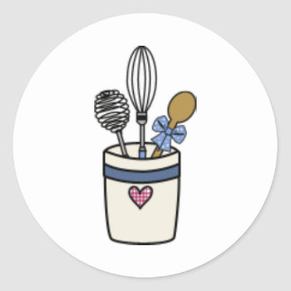 Kitchen Utensils Sticker