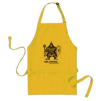 Kitchen warrior funny apron