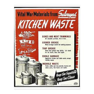 Kitchen Waste Flyer