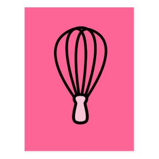 Kitchen Wire Whisk Symbol Postcard