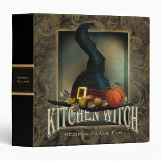 Kitchen Witch 3 Ring Binder