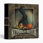Kitchen Witch 3 Ring Binder
