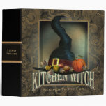 Kitchen Witch 3 Ring Binders